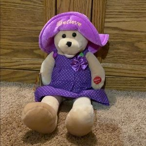 """Chantilly Lane 17"""" Believe Bear"""